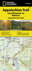 Wandelkaart Appalachian Trail –  East Mountain to Hanover  | 1:63360 | National Geographic 1510 | ISBN 9781597756471