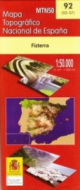 Wandelkaart - Topografische kaart Fisterra | 1:50.000 | CNIG 92 | ISBN 8423434009203