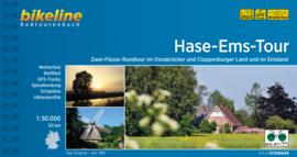 Fietsgids Bikeline Hase-Ems Radweg - 332 km.  | Verlag Esterbauer | ISBN 9783850009072