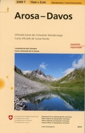 Wandelkaart Arosa - Davos | Bundesamt 3309T |  ISBN 9783302333090