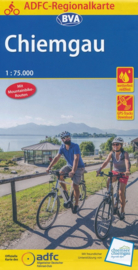 Fietskaart  Chiemgau| ADFC - BVA Regionalkarte | 1:75.000 | ISBN 9783870738112