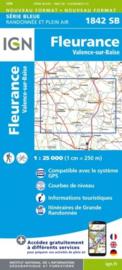 Topo-, wandelkaart Fleurance / Valence-sur-Baïse |  IGN 1842SB | ISBN 9782758539025