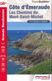 Wandelgids Côte d'Émeraude | FFRP | ISBN 9782751402920