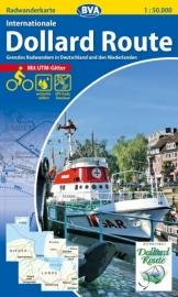 Fietskaart Internationale Dollard route | ADFC regionalkarte | ISBN 9783870737030