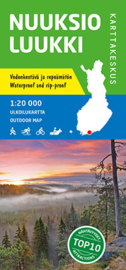 Wandelkaart  Nuuksio Luukki    Karttakeskus - Genimap   1:20.000   ISBN 9789522664679