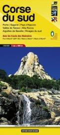 Wandelkaart Corsica - 09 Corse du Sud - Corsica zuid  - Aiguilles de Bavella - Vallée de Taravo - Alta Rocca 1:60.000 | ISBN 9782723476720