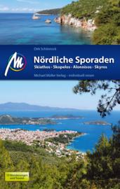 Reisgids Nördliche Sporaden | Michael Müller Verlag | Skiathos, Skopelos, Alonnissos, Skyros| ISBN 9783956543876
