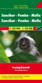 Wegenkaart Zanzibar   Freytag & Berndt   1:80.000   ISBN 9783707911671
