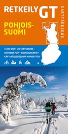 Fiets- Wegenkaart Pohjois-Suomi GT 4 - Noord Finland | Karttakeskus | 1:400.000 | ISBN 9789522664594