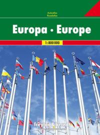 Wegenatlas Europa   Freytag & Berndt   1:700.000   ISBN 9783707917703