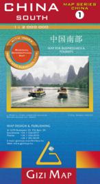 Wegenkaart China Zuid 01 | Gizimap | 1:2 miljoen | ISBN 9789638703033