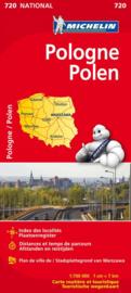 Wegenkaart Polen | Michelin | 1:700.000 | ISBN 9782067171558