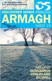 Wandelkaart Armagh | Discovery Northern Ireland 19 - Ordnance survey | 1:50.000 | ISBN 9781905306909