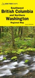 Wegenkaart  Southwest B.C. and Northern Washington No. 4 | GEM Trek | 1:840.000 | ISBN  9781895526943