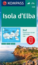 Wandelkaart Elba | Kompass 2468 | 1:30.000 | ISBN 9783990448885
