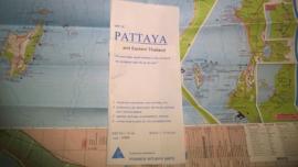 Wegenkaart Pattaya & Eastern Thailand | Prannok Witthaya Maps | 1:219.000