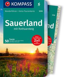 Wandelgids Sauerland - met Rothaarsteig   Kompass 5310   ISBN 9783991210351