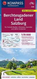 Fietskaart  Berchtesgadener Land, Salzburg | Kompass 3336 | 1:70.000 | ISBN 9783990446812