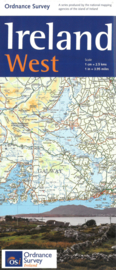 Wegenkaart Ierland West | Ordnance Survey | Holiday map nr. 4 | ISBN 9781908852878