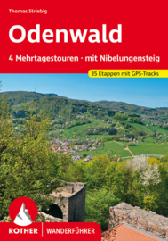 Wandelgids Odenwald - Mehrtagestouren | Rother Verlag | ISBN 9783763345441