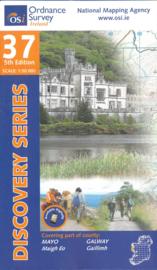 Wandelkaart Ordnance Survey / Discovery series | Mayo / Galway 37 | ISBN 9781908852441