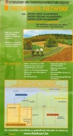 Sportoena fietskaart 4 Frans Vlaanderen Fietsroute Netwerk | 9789078976264