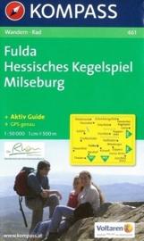 Wandelkaart Fulda-Hessische Kegelspiel-Milseburg | Kompass 461 | ISBN 9783850261838