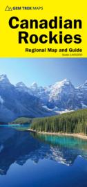 Wegenkaart  Canadian Rockies - Banff & Jasper Driving Map No.2 | GEM Trek | 1:400.000 | ISBN 9781895526929
