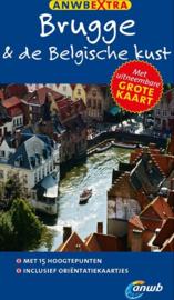 Reisgids Brugge en de Belgische kust | ANWB Extra | ISBN 9789018039608