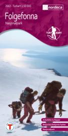 Wandelkaart Folgefonna Nasjonalpark 2663 | Nordeca | 1:50.000 | ISBN 7046660026632