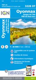 Wandelkaart Oyonnax, Gorges de l`Ain | Jura | IGN 3228 OT - IGN 3228OT  | ISBN 9782758545538