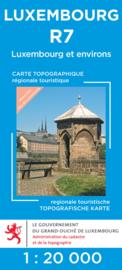 Wandelkaart Luxemburg & Environs |  Topografische dienst Luxembourg 07 | ISBN 5425013060929