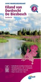 Wandelkaart Eiland van Dordrecht - Biesbosch | ANWB | 1:33.333 | ISBN 9789018046620