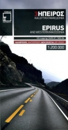 Fiets- & Wegenkaart Epirus 3 - Griekenland | Terrain Maps | ISBN 9789609456241