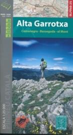 Wandelkaart Alta Garrotxa | Editorial Alpina | Centrale Pyreneeën | 1:25.000 | ISBN 9788480905619