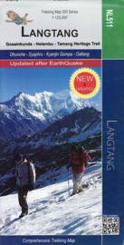 Wandelkaart Langtang - Gosainkunda - Helambu : Tamang Heritage Trail | Nepa Publications | 1:125.000 | 9789937649889