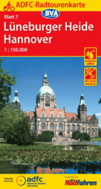 Fietskaart Lüneburger Heide - Hannover nr. 7 | ADFC Radtourenkarte | 1:150.000 | ISBN 9783870737702