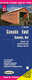 Wegenkaart Canada oost | Reise Know How | 1:1:1.900.000 | ISBN 9783831773411