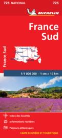 Wegenkaart Frankrijk Zuid | Michelin 725 | 1: 1 miljoen | ISBN  9782067200159