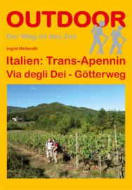 Wandelgids-Trekkinggids Trans-Apennin - Via degli Dei - Götterweg | Conrad Stein Verlag | ISBN 9783866860919