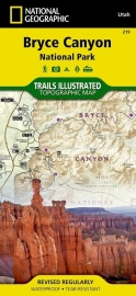 Wandelkaart Bryce Canyon National Park 219 | National Geographic | ISBN 9781566953207
