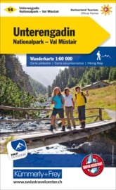 Wandelkaart Unterengadin 14 | Kümmerly & Frey | 1:60.000 | ISBN 9783259022146