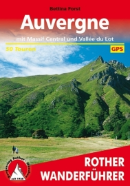 Wandelgids Auvergne | Rother Verlag | Massif Central - Vallée du Lot | ISBN 9783763343225