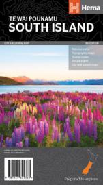 Wegenkaart Nieuw Zeeland Zuid - Zuidereiland | 1:1 miljoen | HEMA Maps | ISBN 9781925625363