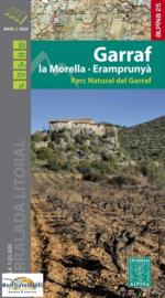 Wandelkaart Parc Naturel Massif de Garraf (noordoost Spanje) | Editorial Alpina | 1:25.000 | ISBN 9788480906937