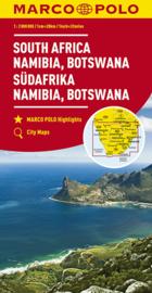 Wegenkaart Zuid Afrika - Namibië -  Botswana | Marco Polo | 1: 2 miljoen| ISBN 9783829739276