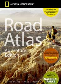 Wegenatlas USA - Canada - Mexico  | National Geographic | ISBN 9780792289890