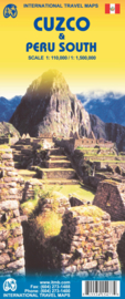 Wegenkaart Cuzco Region - Cuzco & Peru South | ITMB | 1:500.000 / 1:110.000 | ISBN 9781553415473