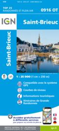 Wandelkaart 0916OT - 0916 OT St.-Brieuc, Plouha, St-Quay-Portrieux, Binic, Pordic, Plérin | Bretagne | ISBN 9782758551461