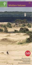 Wandelkaart Midden Veluwe 24 | StaatsBosBeheer | 1:25.000 | ISBN 9789028703858